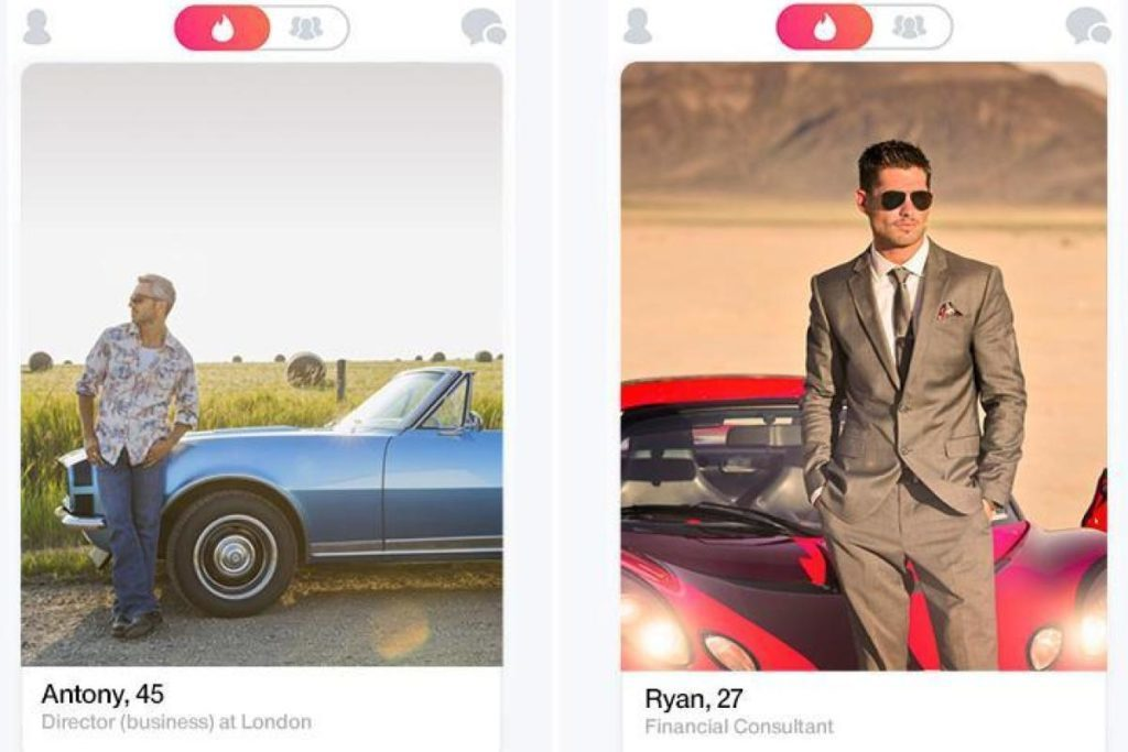 dont use cars in tinder profile
