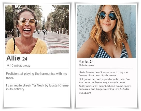 tinder bio examples for girls and guys