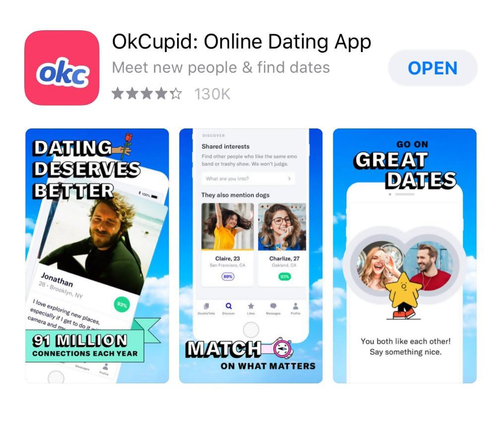 okcupid email address