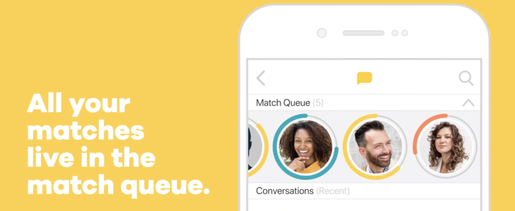 bumble match queue
