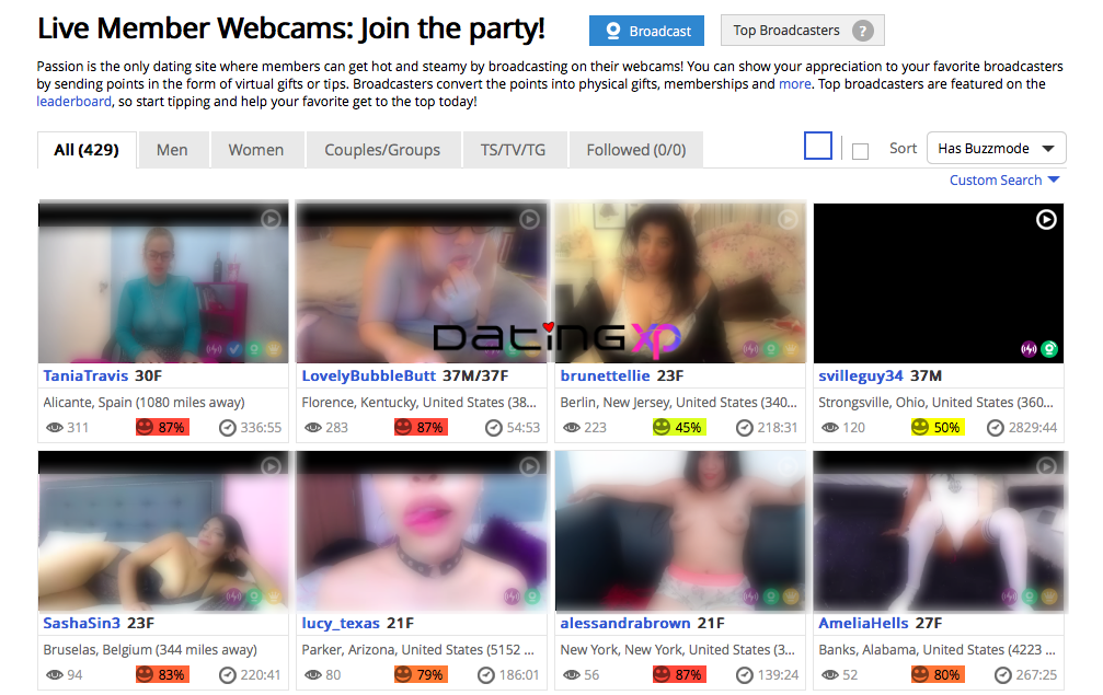 Live Webcam Shows