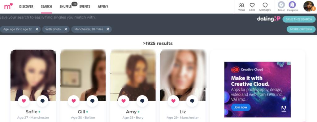 match.com's design