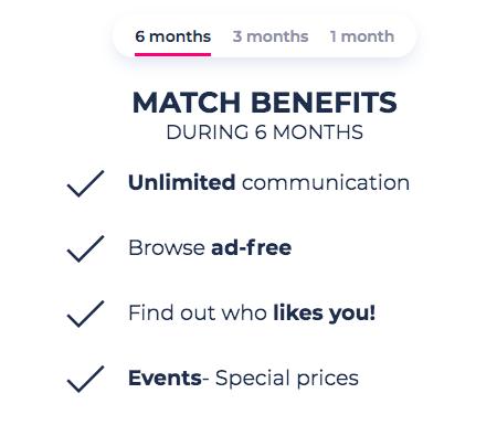 match.com prices