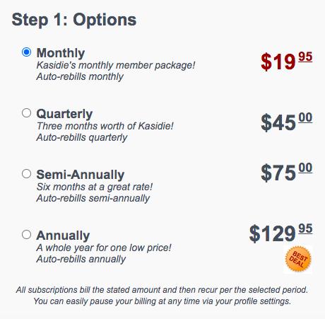 Kasidie Membership Price